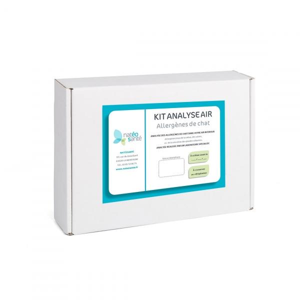 Kit analyse air Allergènes de Chat