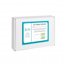 Kit analyse air intérieur gaz BTEX Nateosante