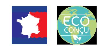 Fabriqué en France et eco-conçu