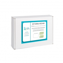 Kit d'analyse air intérieur gaz BTEX