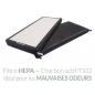 Purificateur d'air Air Pro 500 Style Black - Filtres de qualité médicale