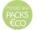 Packs - 3 fois sans frais